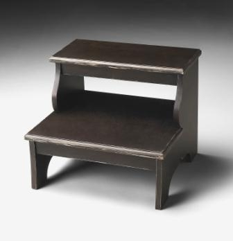 1922005 Brushed Sable Step Stool - Butler