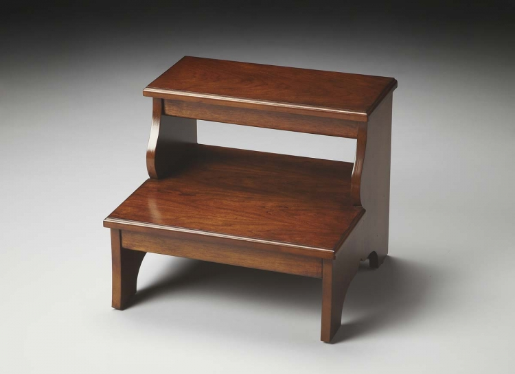 1922108 Step Stool - Chestnut Burl - Butler