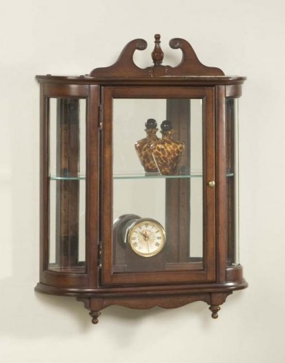 1927024 Plantation Cherry Wall Curio - Butler