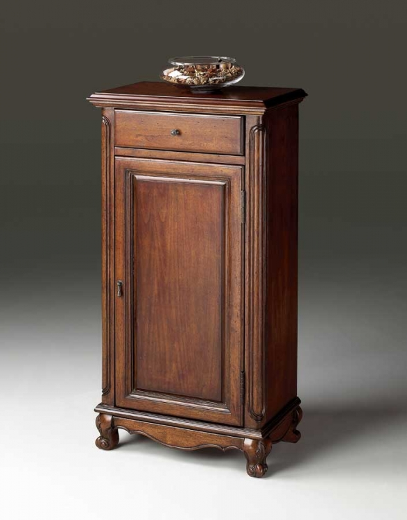 1932024 Plantation Cherry Tall Door Chest