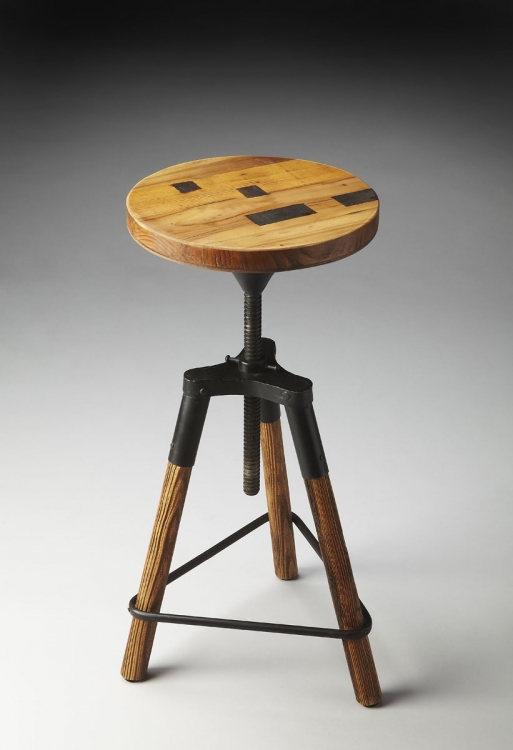 2048025 Revolving Bar Stool - Metalworks