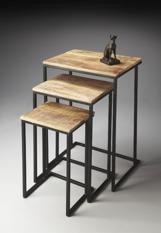 2056025 Nest Of Tables - Metalworks - Butler