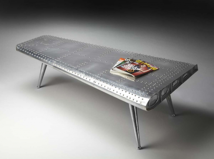 2061025 Cocktail Table - Metalworks - Butler
