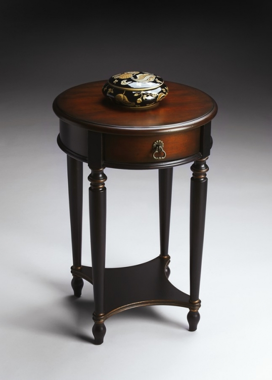 2096104 Cafe Noir Accent Table - Butler