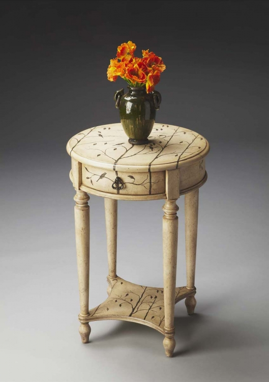 2096130 Accent Table - Winter Forest