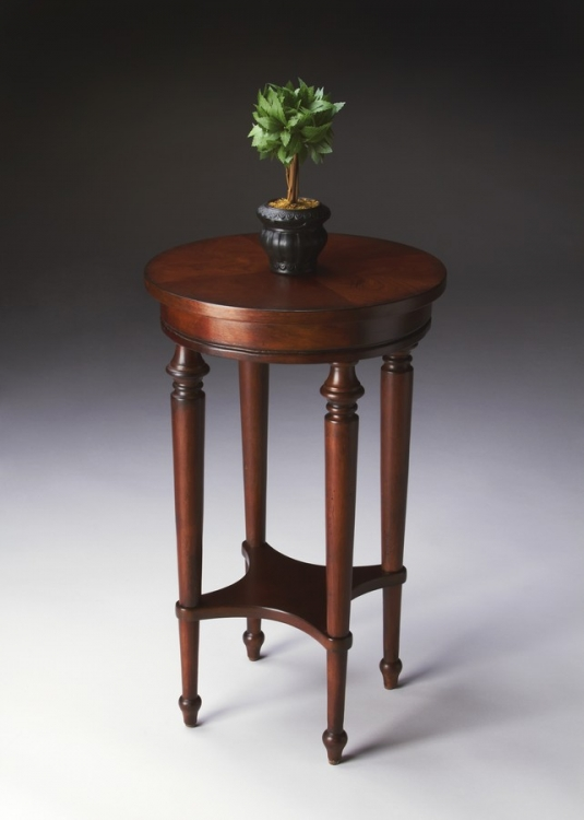 2100024 Plantation Cherry Accent Table
