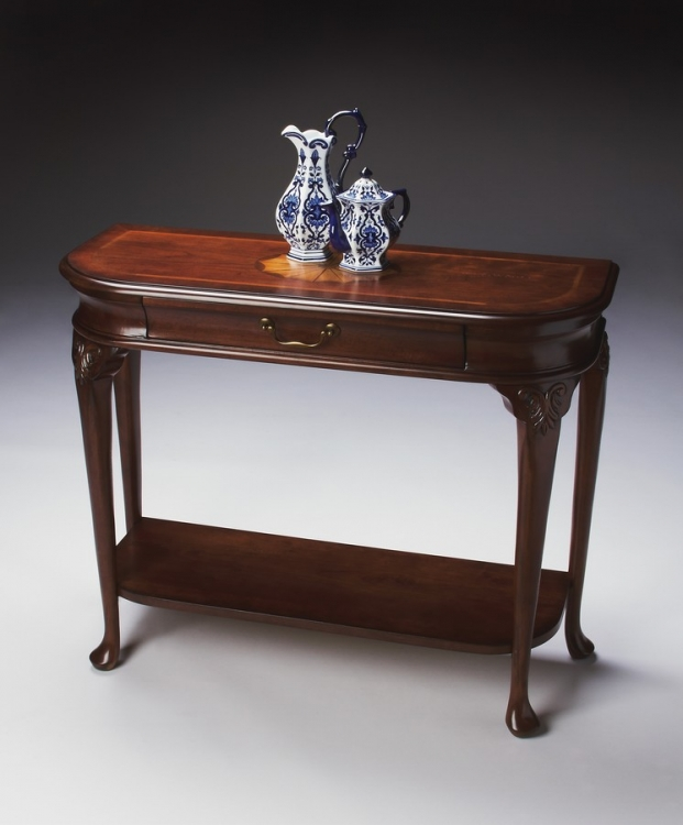 2110024 Plantation Cherry Console Table - Butler