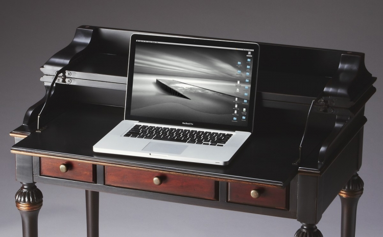 2120104 Cafe Noir Laptop Desk - Butler