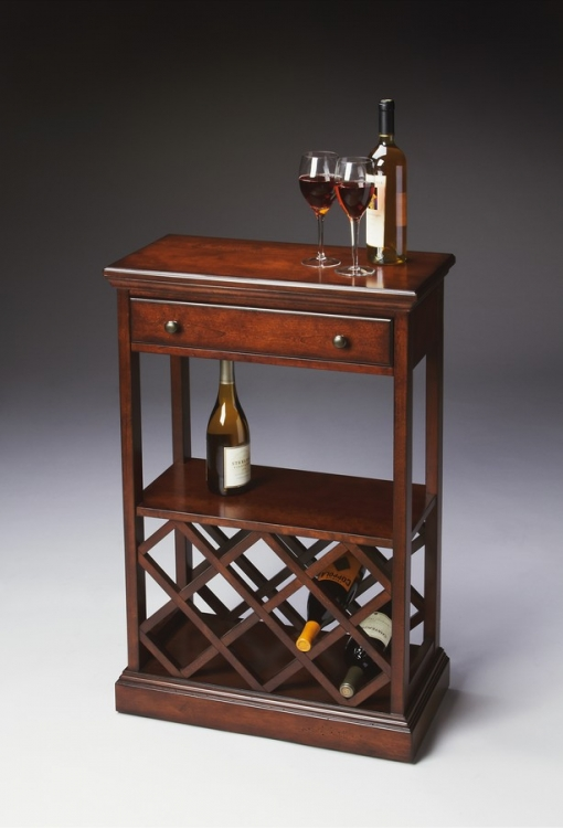 2131024 Plantation Cherry Wine Rack - Butler