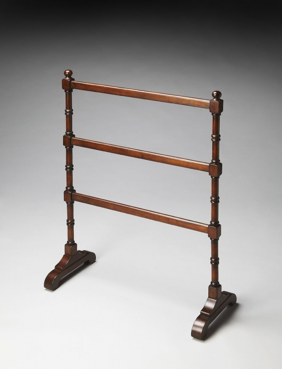 2203024 Blanket Stand - Plantation Cherry - Butler