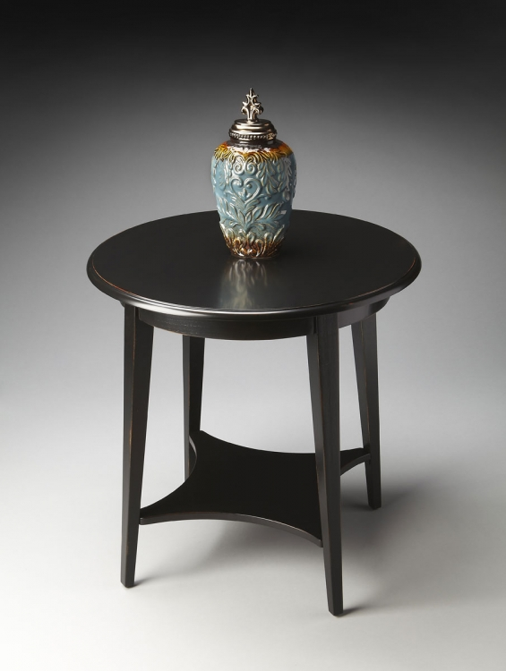 2215111 Accent Table - Black Licorice