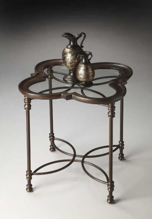 2227025 Accent Table - Metalworks - Butler