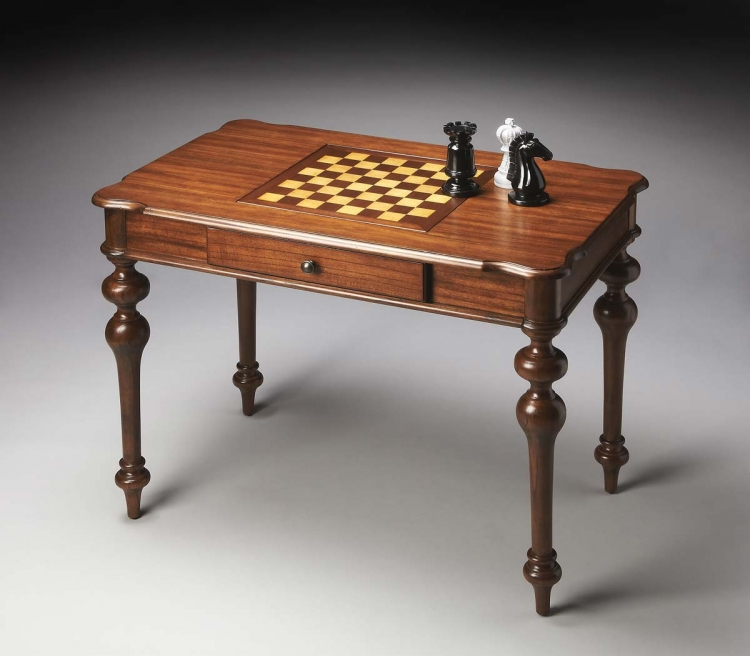 2231279 Game Table - Cinammon