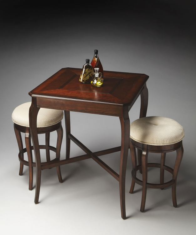 2237024 Pub Game Table - Plantation Cherry
