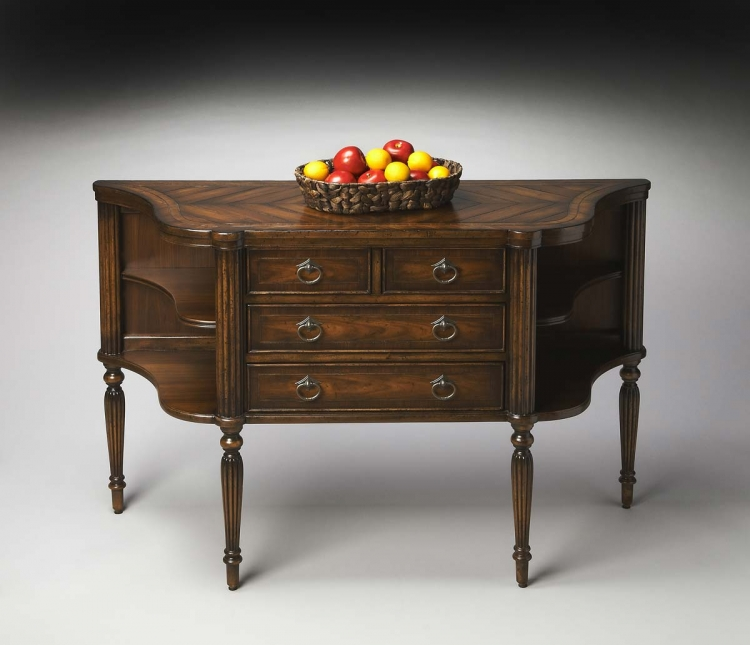 2243281 Sideboard - Burnt Walnut - Butler