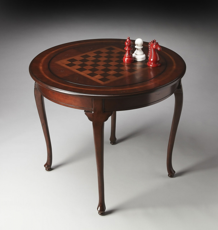 2245024 Game Table - Plantation Cherry - Butler