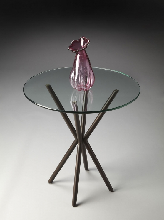 2258025 Accent Table - Metalworks