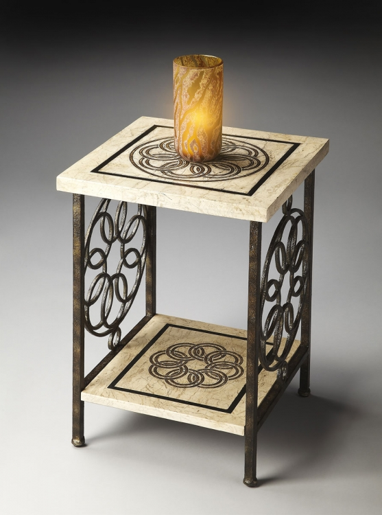 2279025 Accent Table - Metalworks - Butler