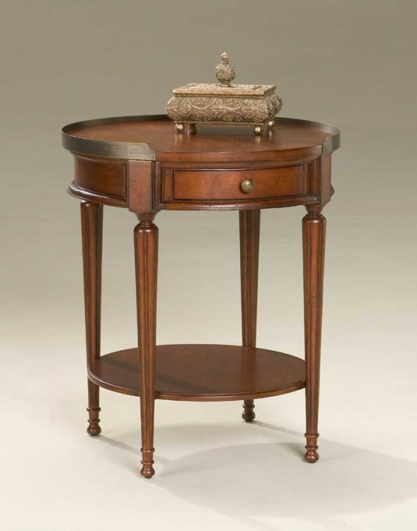 2311024 Plantation Cherry Accent Table