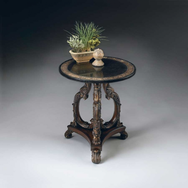 2347070 Heritage Accent Table - Butler