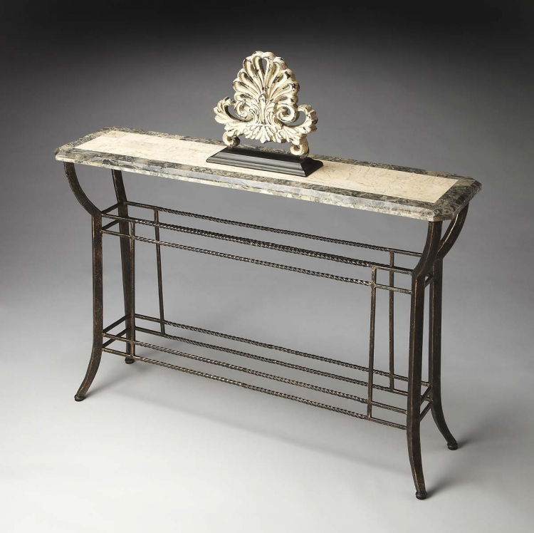 2355025 Console Table - Metalworks - Butler