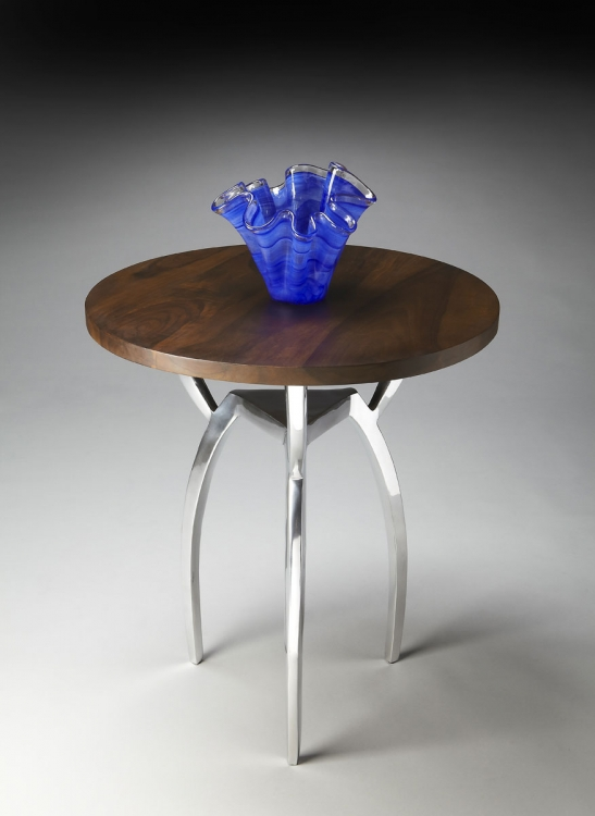 2384220 Accent Table - Nickel