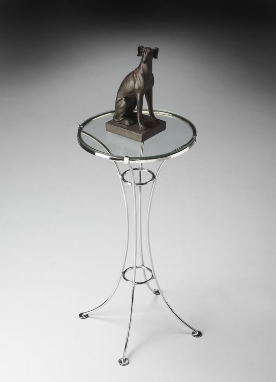 2391220 Accent Table - Nickel - Butler