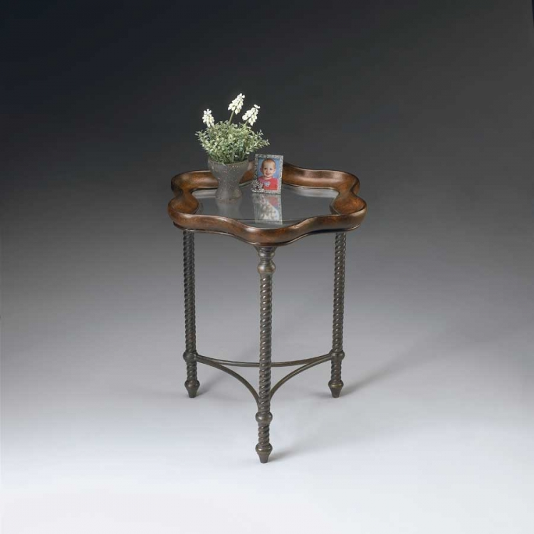 2418025 Metalworks Accent Table