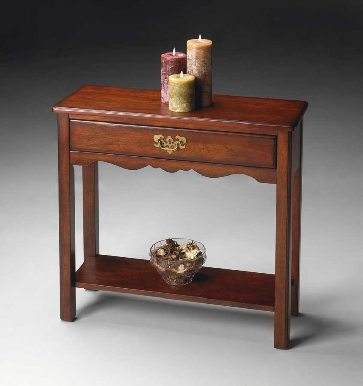 2507024 Plantation Cherry Console Table - Butler