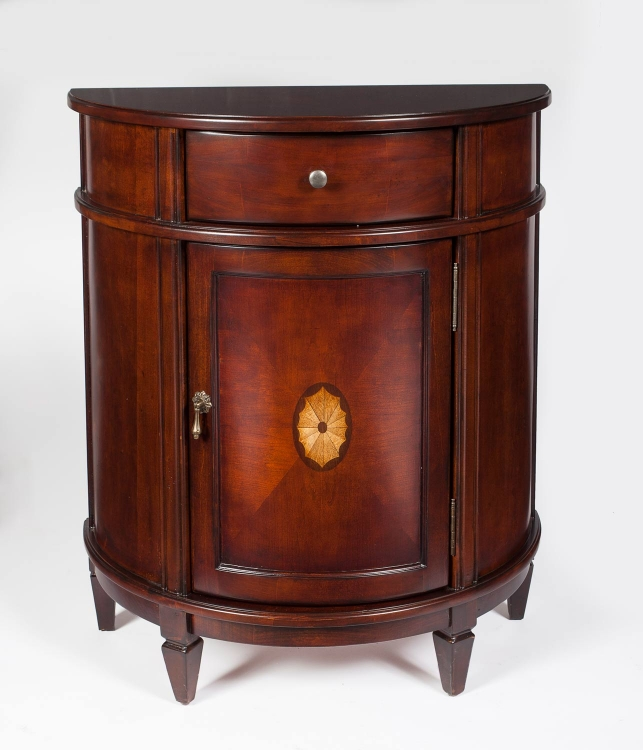2606024 Plantation Cherry Demilune Chest
