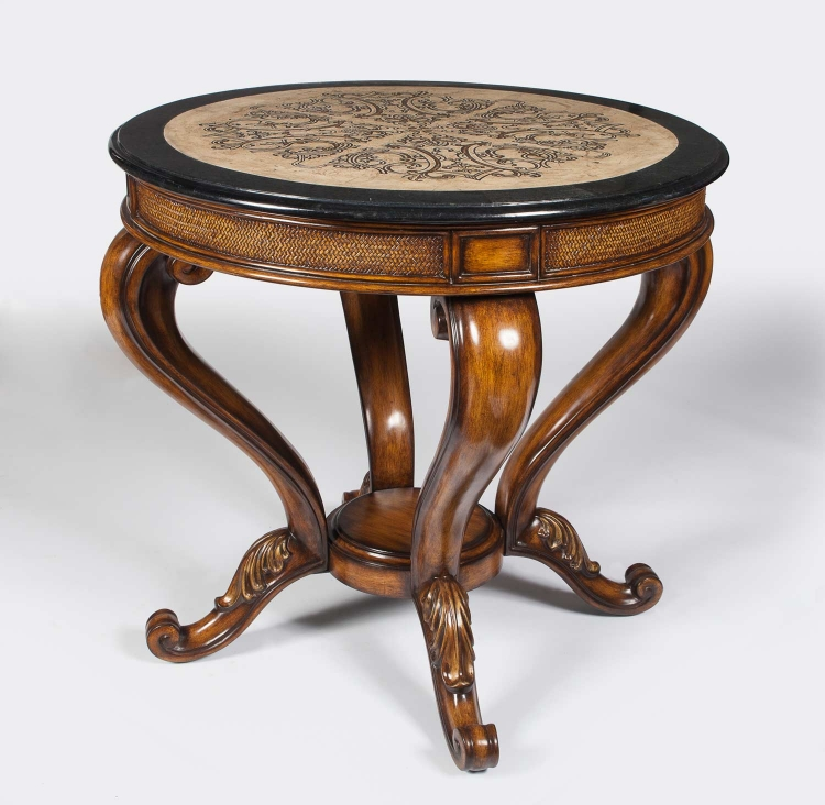 2642070 Heritage Foyer Table