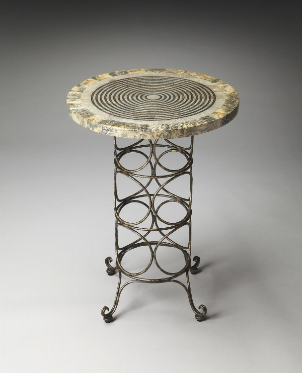 2656025 Metalworks Accent Table