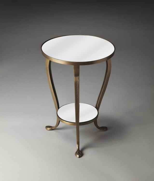 2677025 Metalworks Accent Table