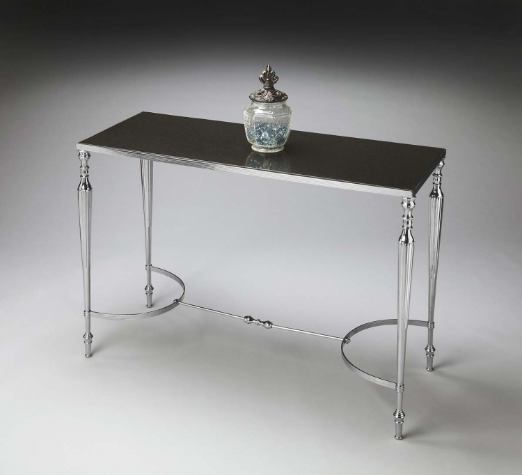 2856220 Console/Sofa Table - Nickel - Butler