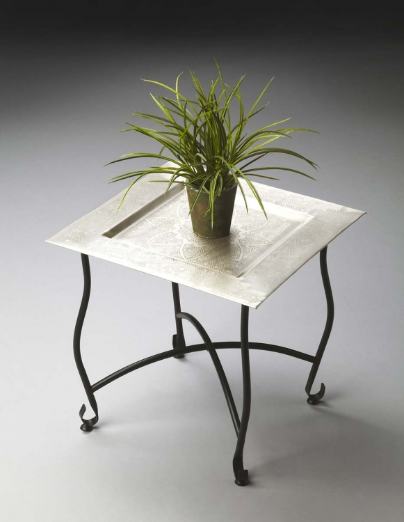 2867025 Moroccan Tray Table - Metalworks - Butler