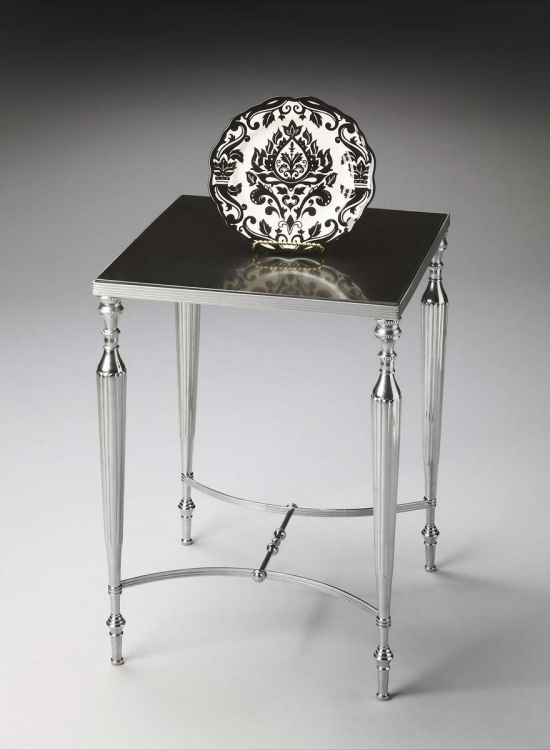 2889220 Side Table - Nickel