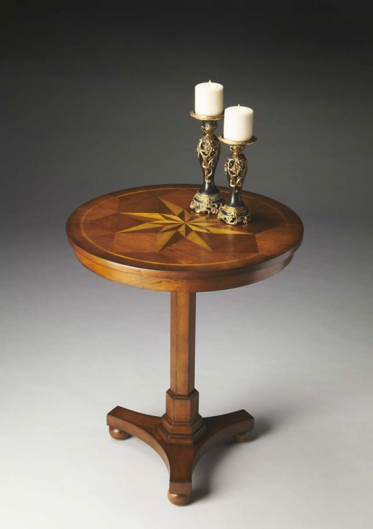 2904011 Accent Table - Antique Cherry