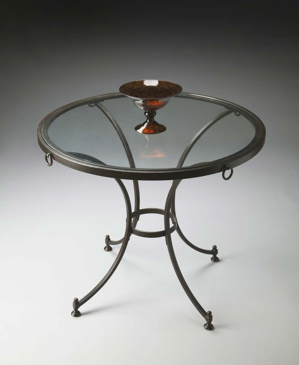 2916025 Foyer Table - Metalworks - Butler