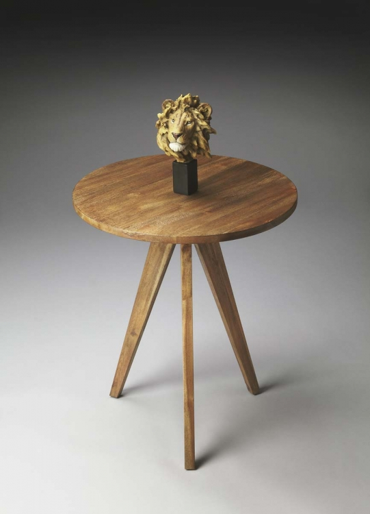 2918273 Accent Table - Natural Wood