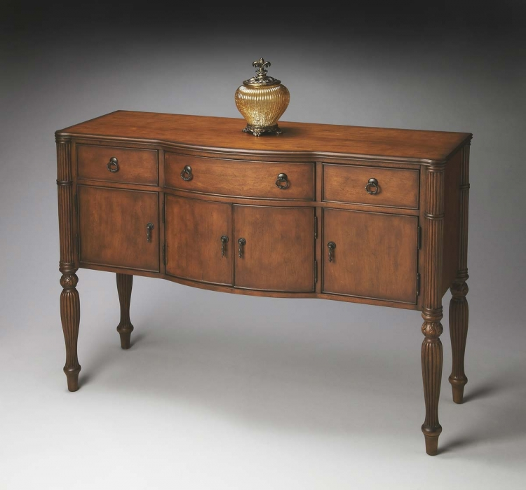 2919011 Console Chest - Antique Cherry - Butler