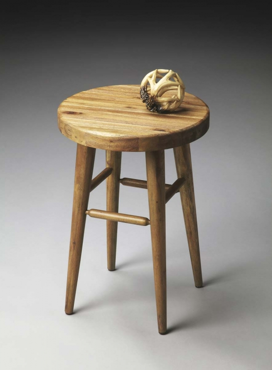 2920273 Stool - Natural Wood