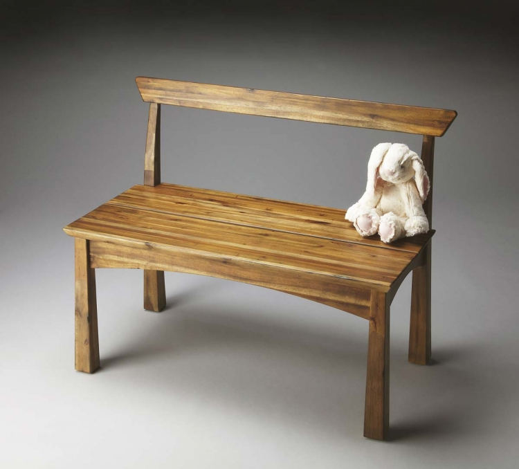 2930273 Bench - Natural Wood