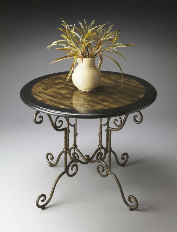 2992025 Foyer Table - Metalworks