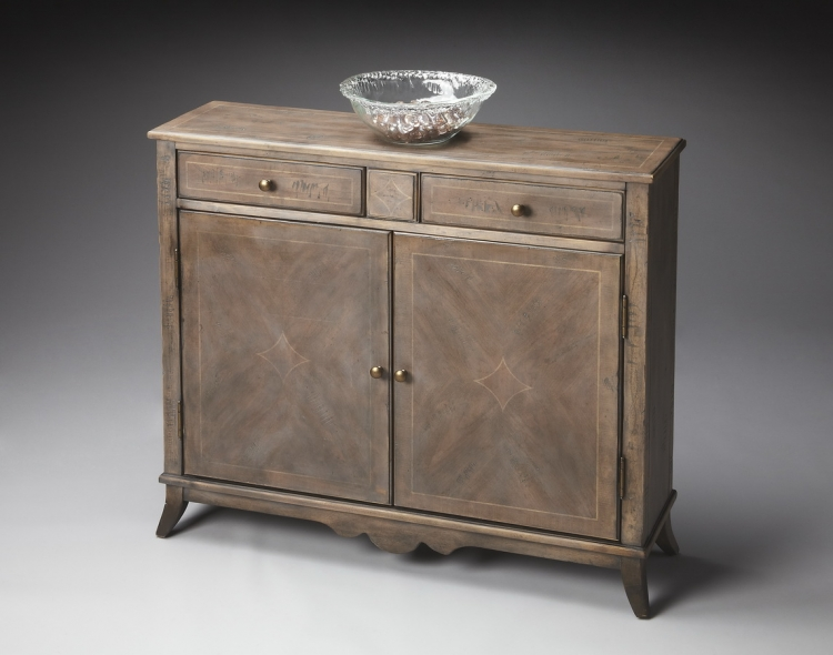 3019248 Dusty Trail Console Cabinet