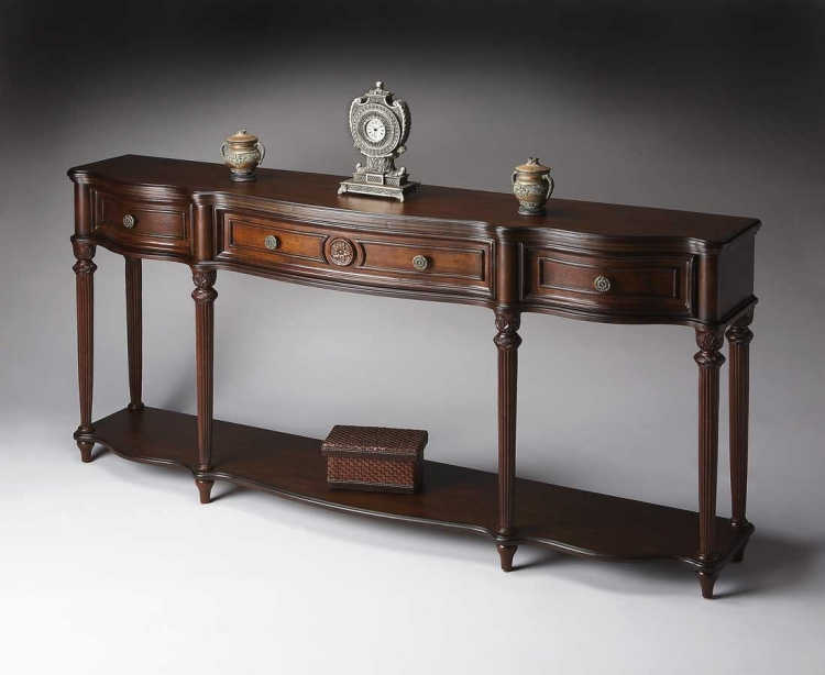 3028024 Plantation Cherry Console Table - Butler
