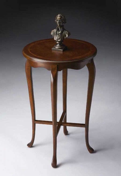 3033024 Plantation Cherry Accent Table