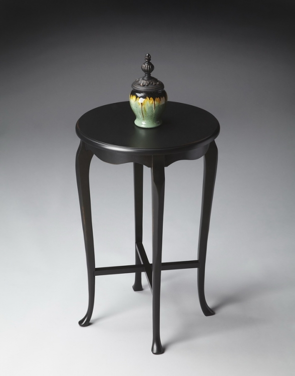 3033111 Black Licorice Accent Table