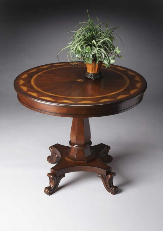 3036024 Plantation Cherry Foyer Table