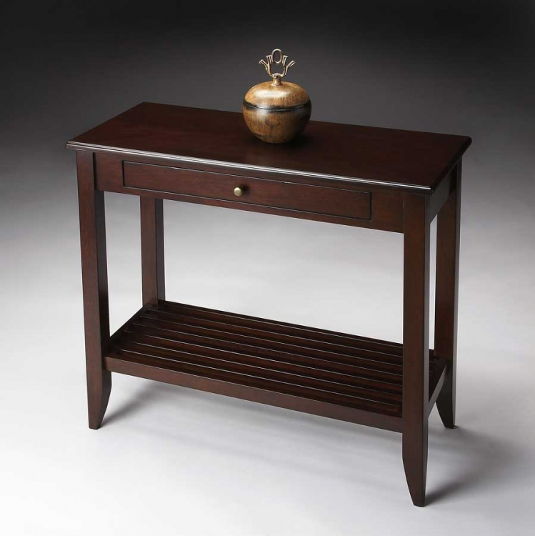 3039022 Merlot Console Table - Butler