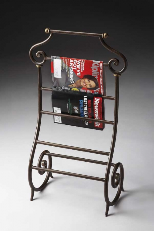 3041025 Metalworks Magazine Rack